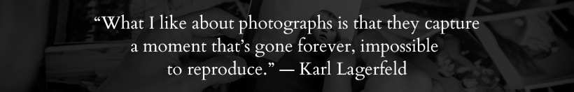 Karl Lagerfeld quote - Memoria Podcast